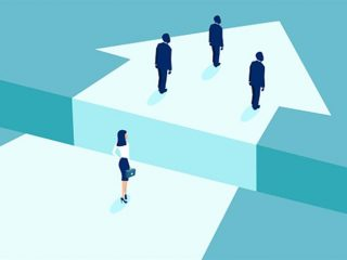 Two-thirds of women believe male colleagues are offered more training